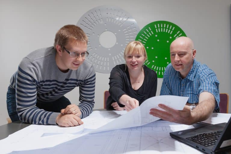 Elematic project management team
