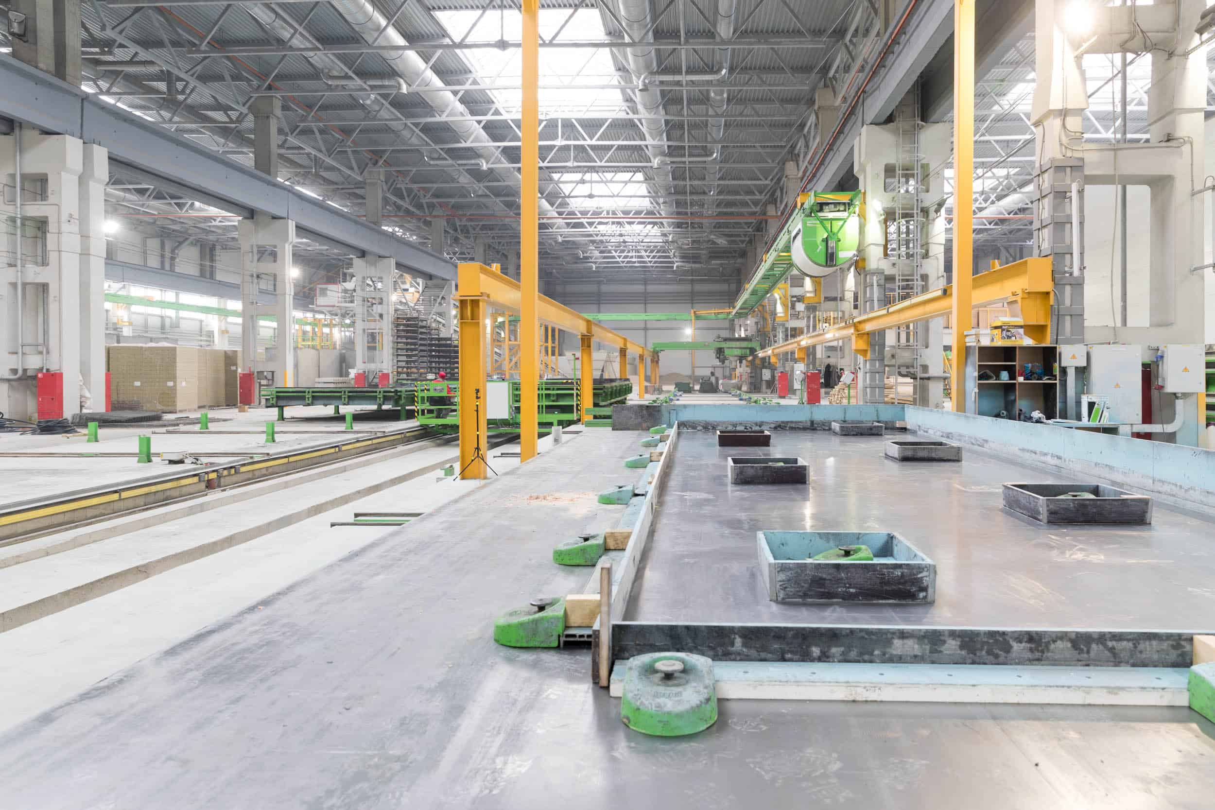 Precast wall production line with FaMe.