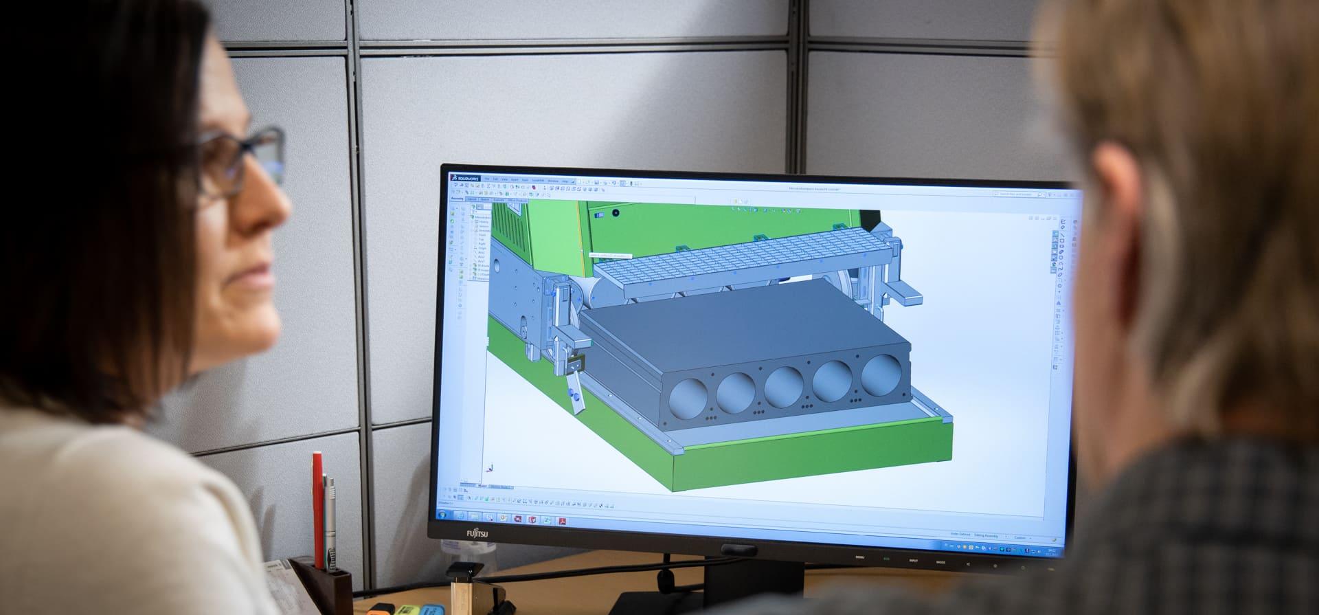 Precast machinery development.