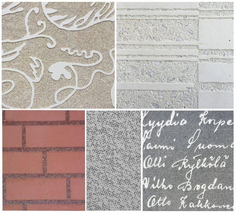 Graphic concrete examples