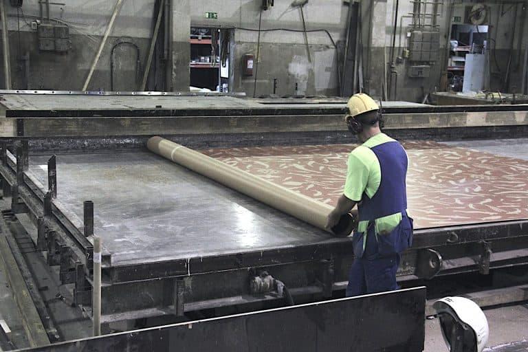 Placing the graphic concretemembrane