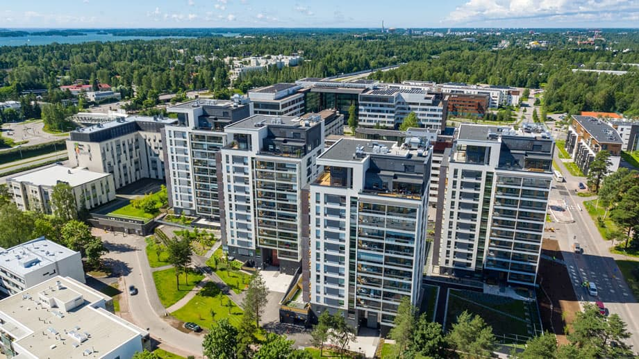 Metsätapiola Residences, Espoo, Finland