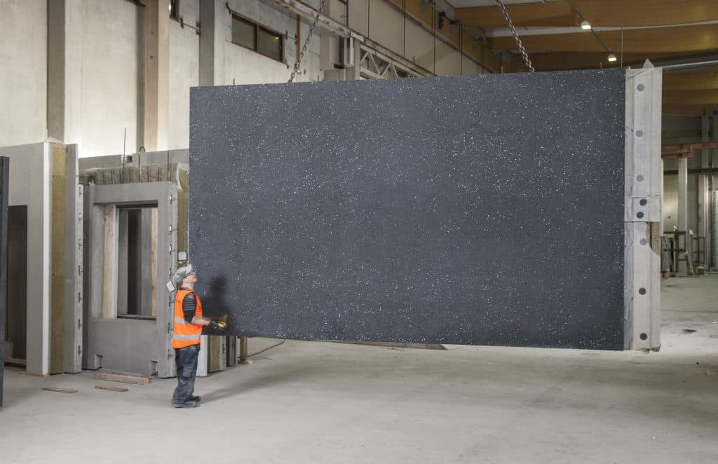 Wall element, Betoniluoma Oy, Finland