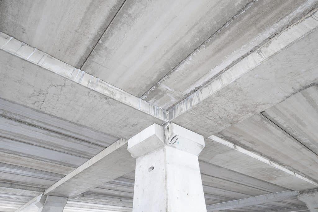 Precast beams, columns and hollow core slabs