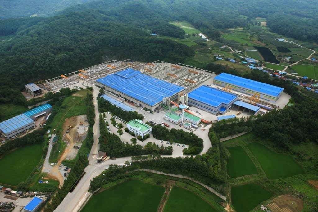 Hansung PCC, Asan factory, South Korea
