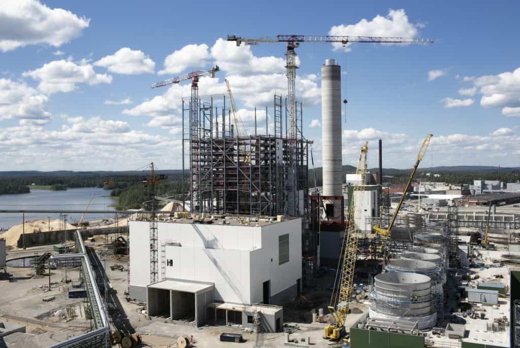 Metsä Group's Bioproduct Mill, Äänekoski, Finland