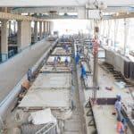 Wall production, Dubai Precast, UAE