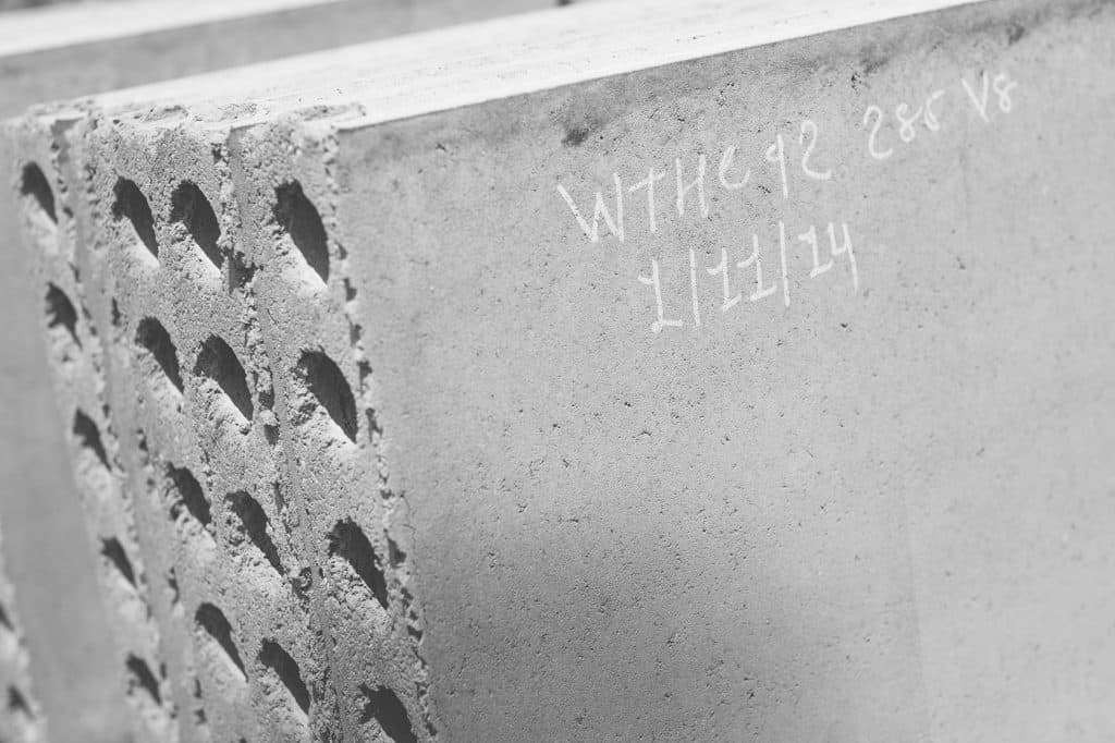 Acotec light-weight non-load bearing panels
