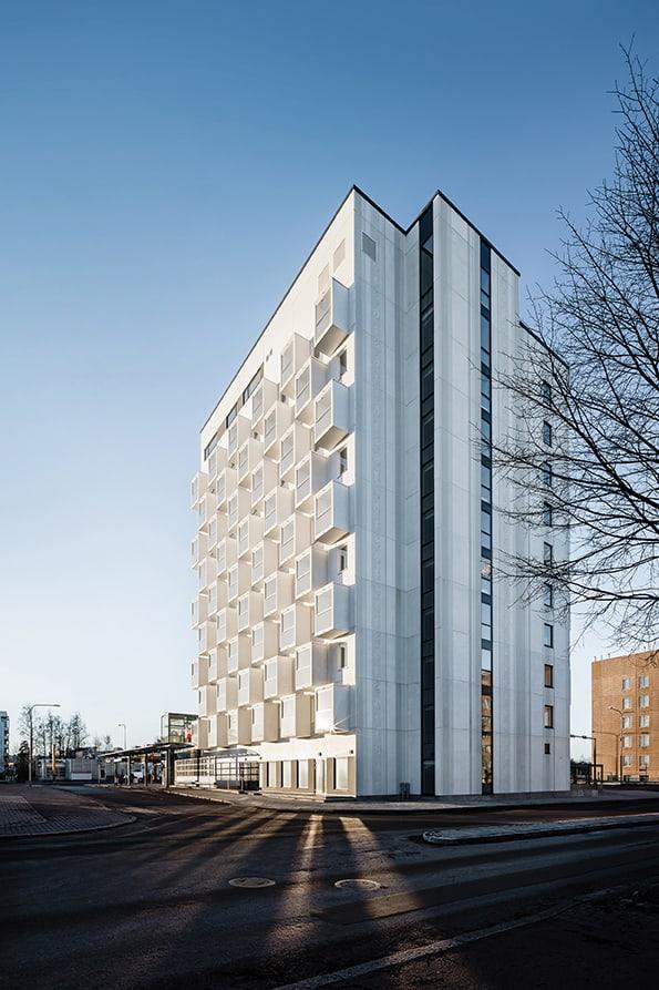 Helsingin Viuhka apartments, Helsinki, Finland