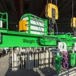 Elemati automatic lifting beam E9, close up