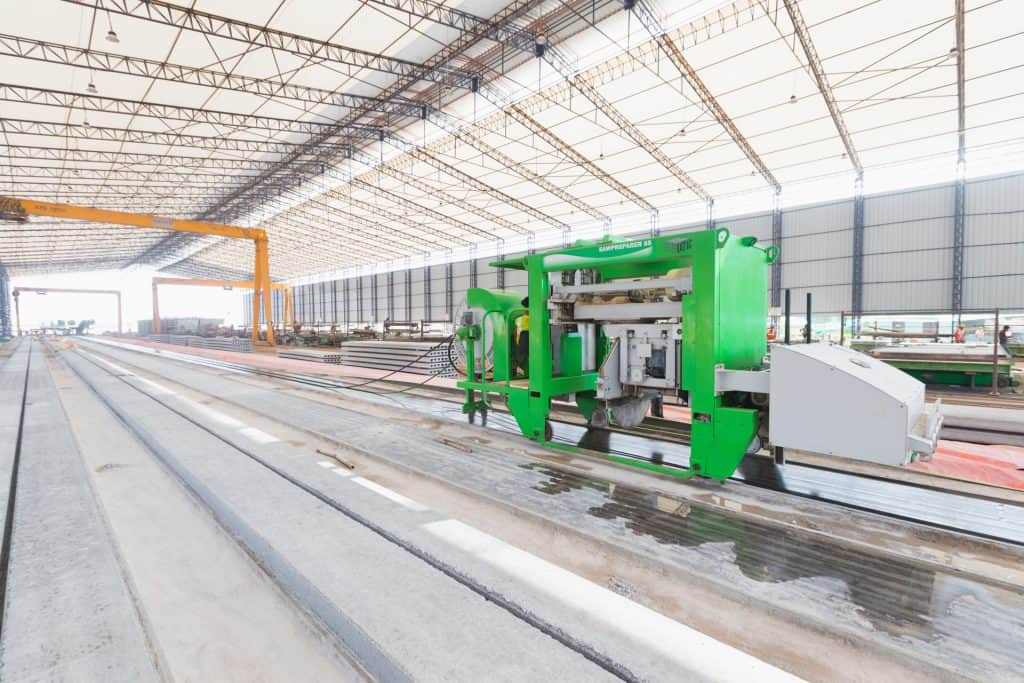 Elematic Sawpreparer S5 in operation