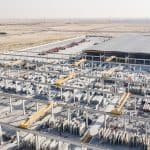 Storage yard, United Precast Concrete Dubai, UAE