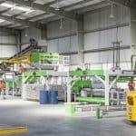 Elematic Acotec SEMI Production Line, whole line