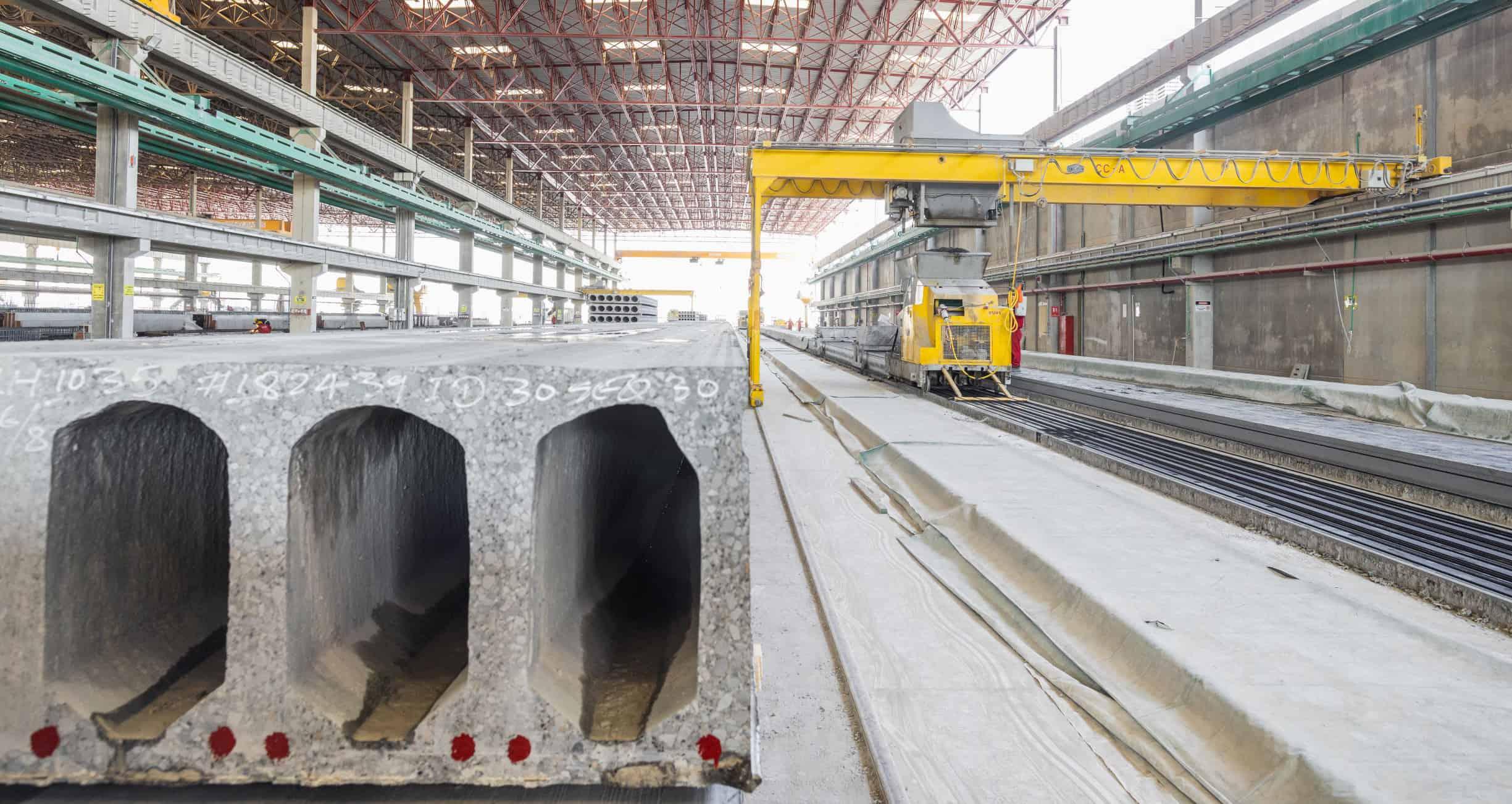 UAE Dubai Precast Plant