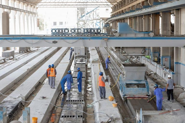 Dubai precast hollowcore plant