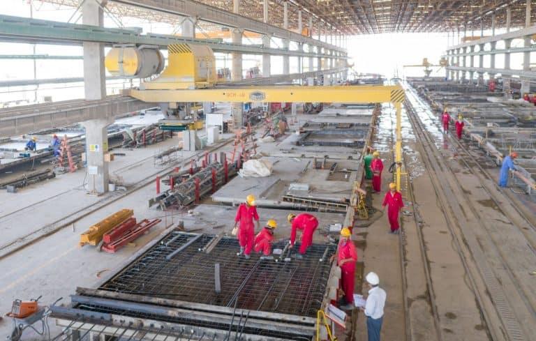 UPC Dubai precast plant