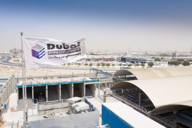 Dubai Precast plant