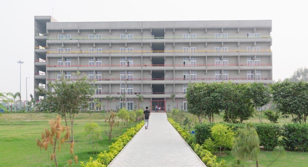 O.P. Jindal Global University campus, Sonipat, India