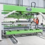Elematic Acotec SEMI production line, restacker