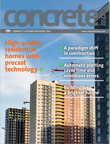 Concrete Issues magazine, 2018