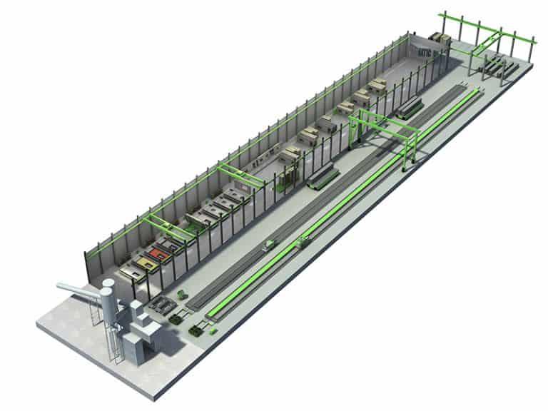 Elematic SEMI complete plant