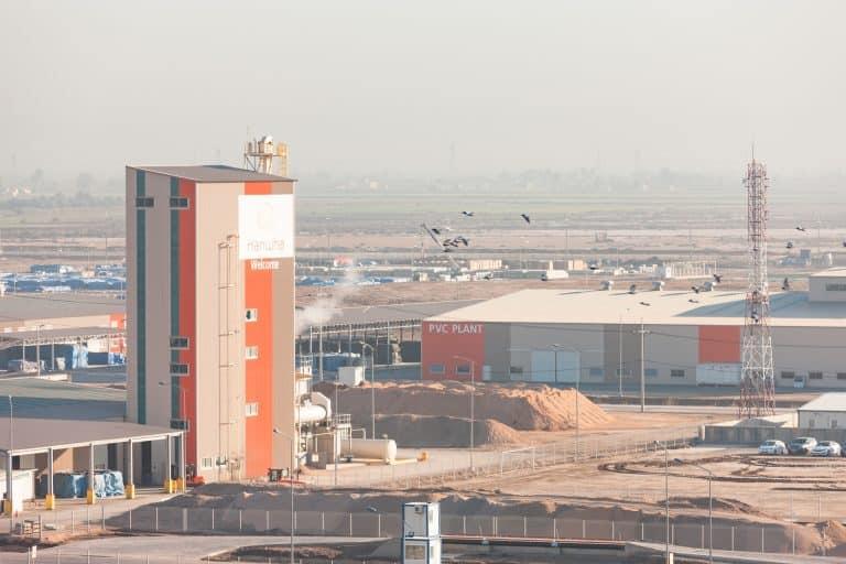 Hanwha E&C precast plant for Bismayah New City, Iraq.