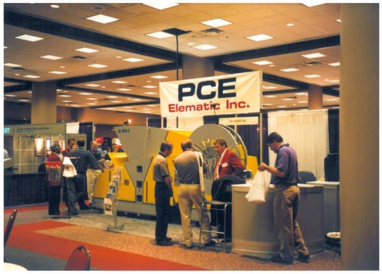 PCI trade fair in Atlanta, Georgia in 1998.