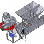 Elematic Batching and Mixing plant S5-20, drawing