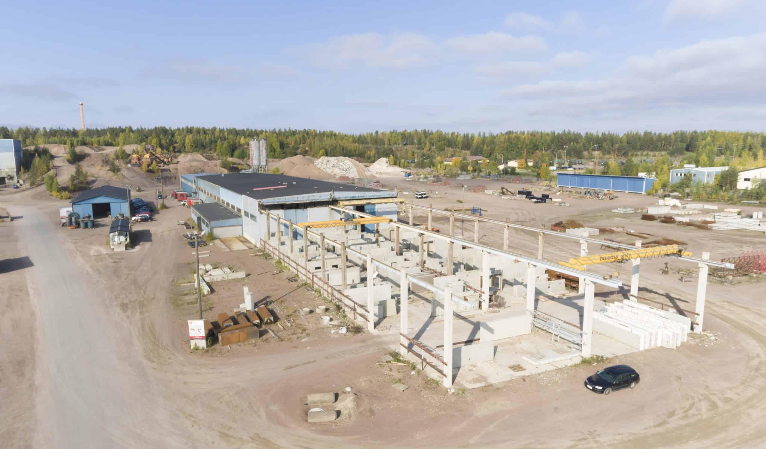 Kouvolan betoni, Finland