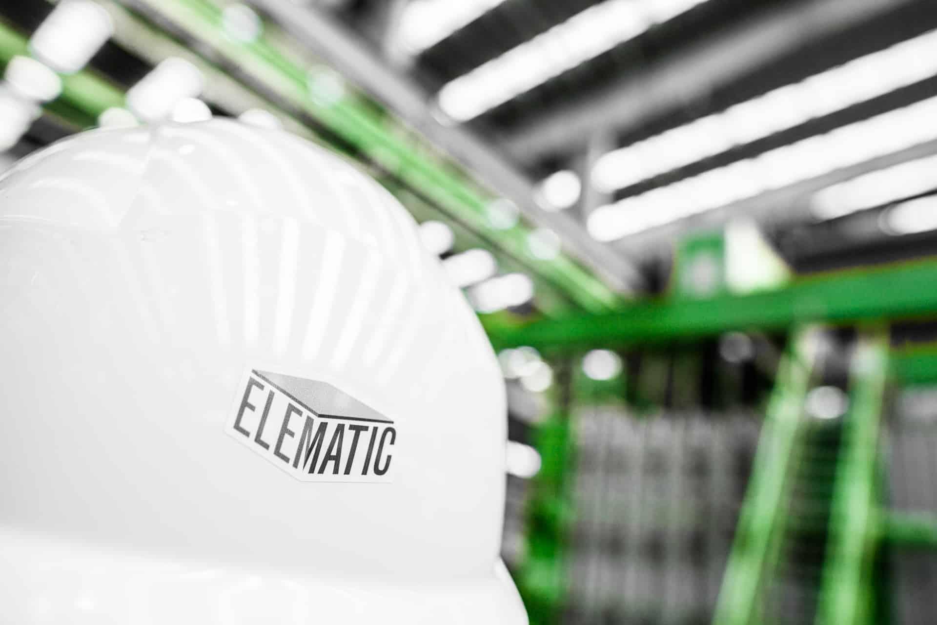 Elematic safety helmet