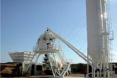 Batching and mixing plant S4-40