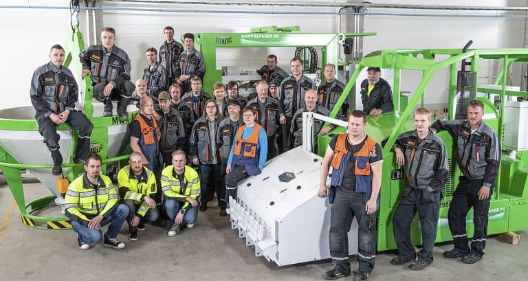 Elematic production and assembly team