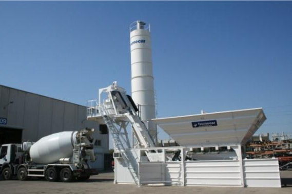 Batching and mixing plant S5-20