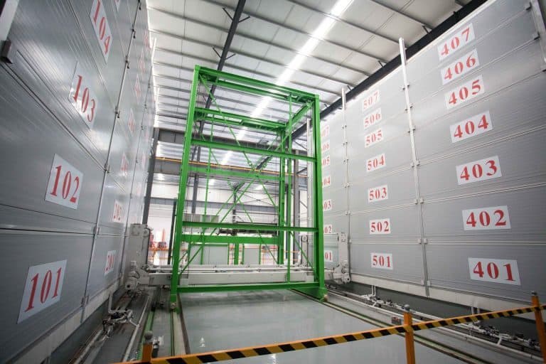 Shanghai Urban Construction Material's wall plant.