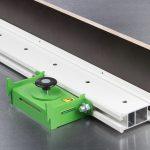 Elematic FaMe Flex profile and Flex push-button magnet.