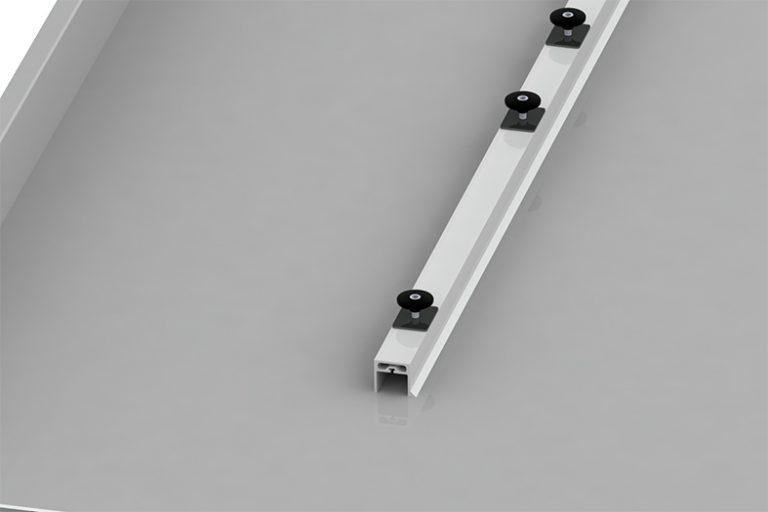 Elematic side for for half-slab long line