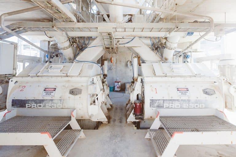 Elematic twin-shaft mixers at Hanwha plant, Iraq