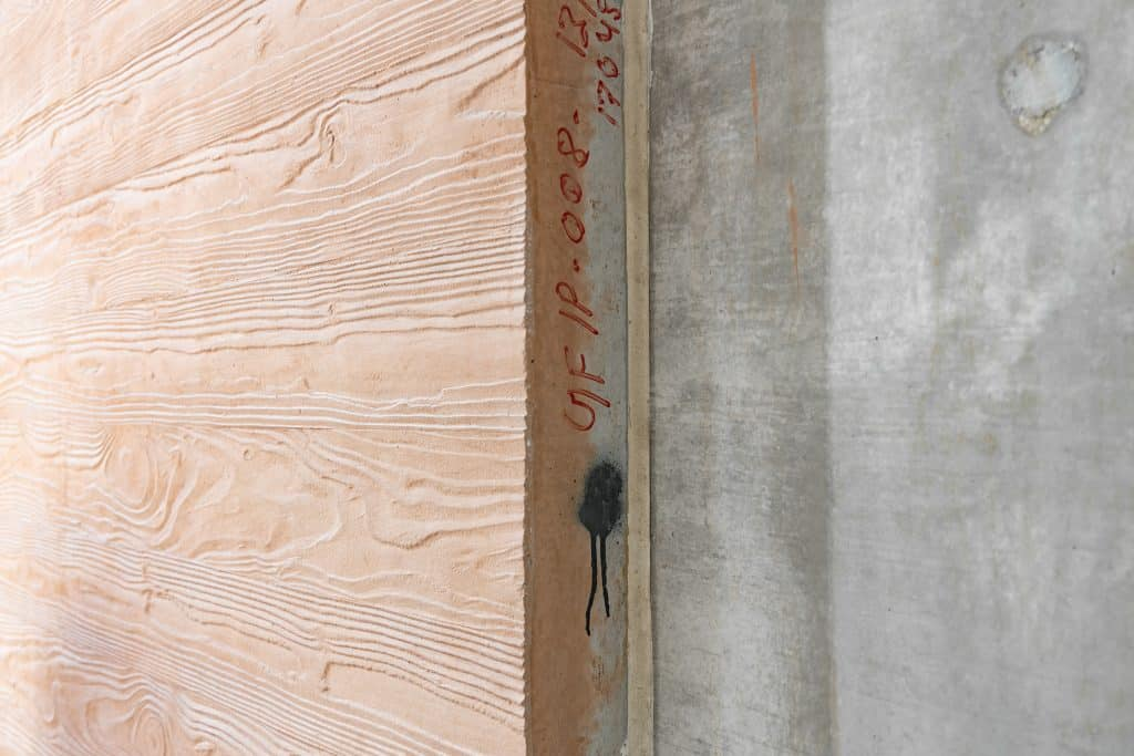 Cladding panel, wood imitation