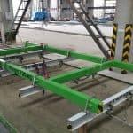 Elematic Lifting Frame for Half Slab Long Line