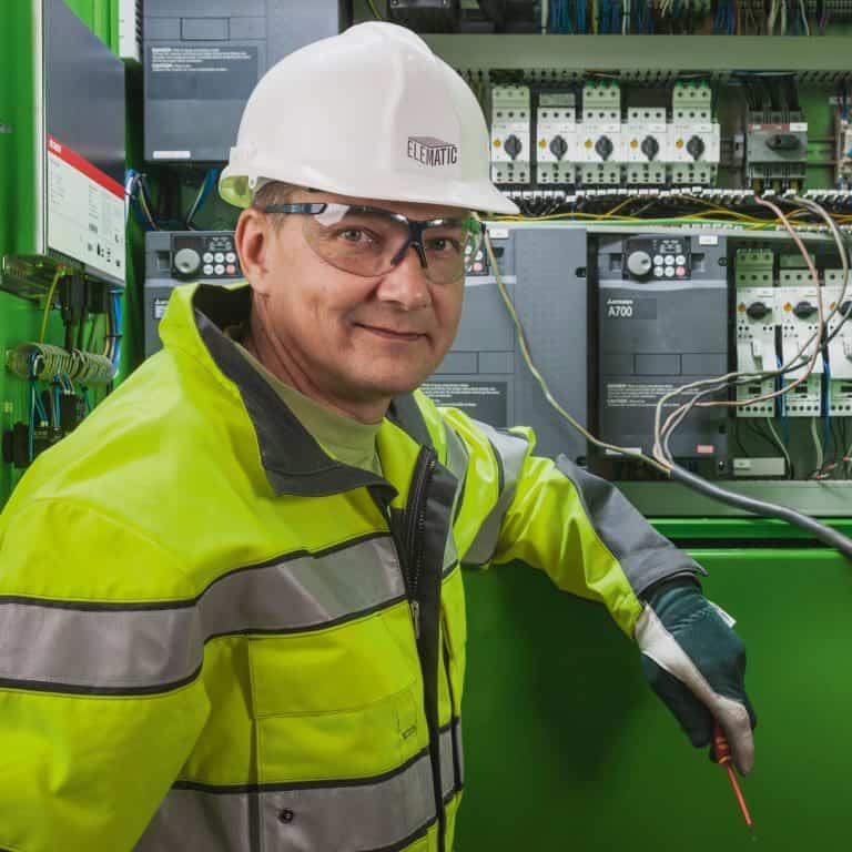 Mikko Hellman, Elematic Service Engineer