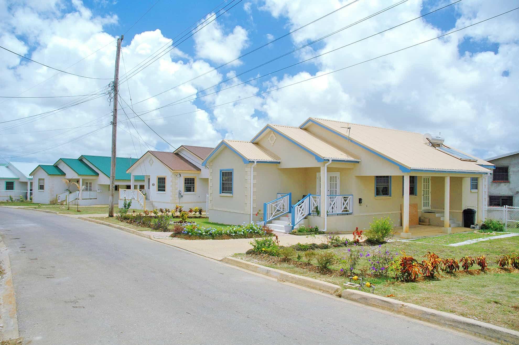 Precast family houses