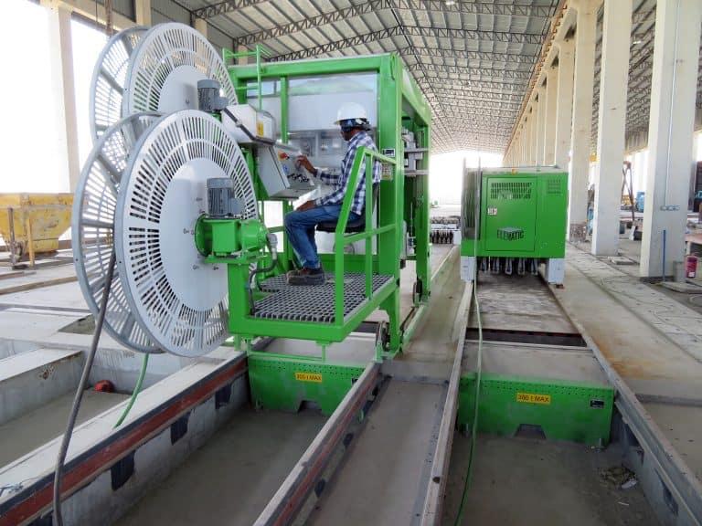Elematic machinery at Sohar Precast