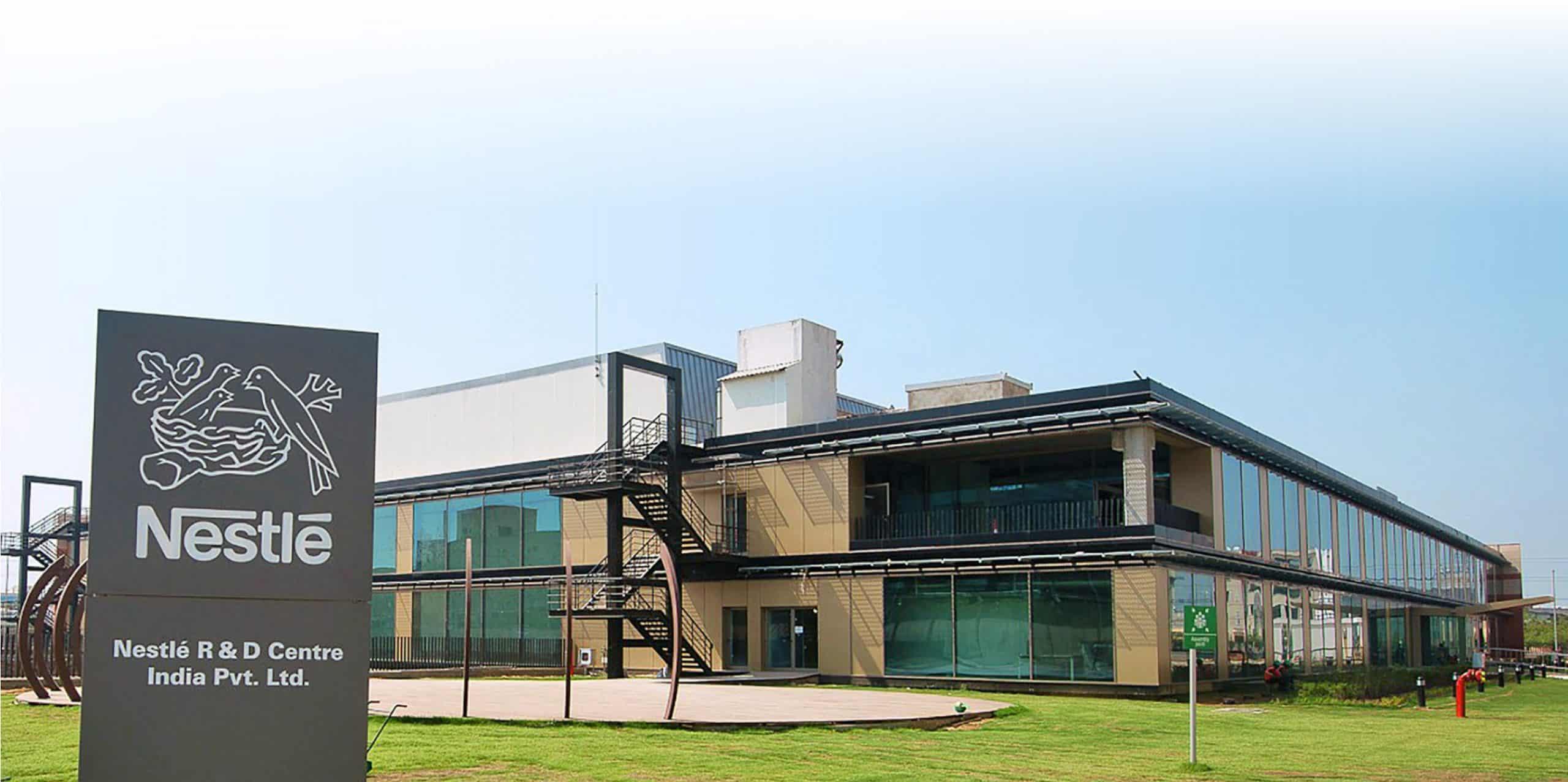 Nestlé India's R&D center in Manesar, Haryana, India