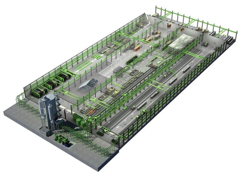 Elematic EDGE complete plant