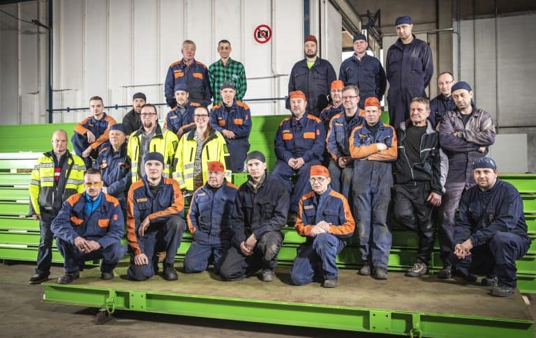 Elematic Riihimäki production and assembly team