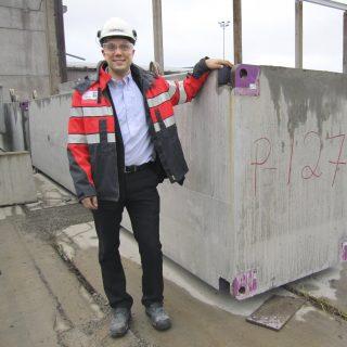 Mikko Isotalo, CEO, Lujabetoni