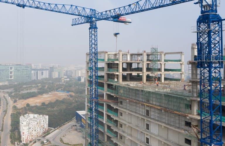 Full precast office building, Galaxy, in Hyderabad, India