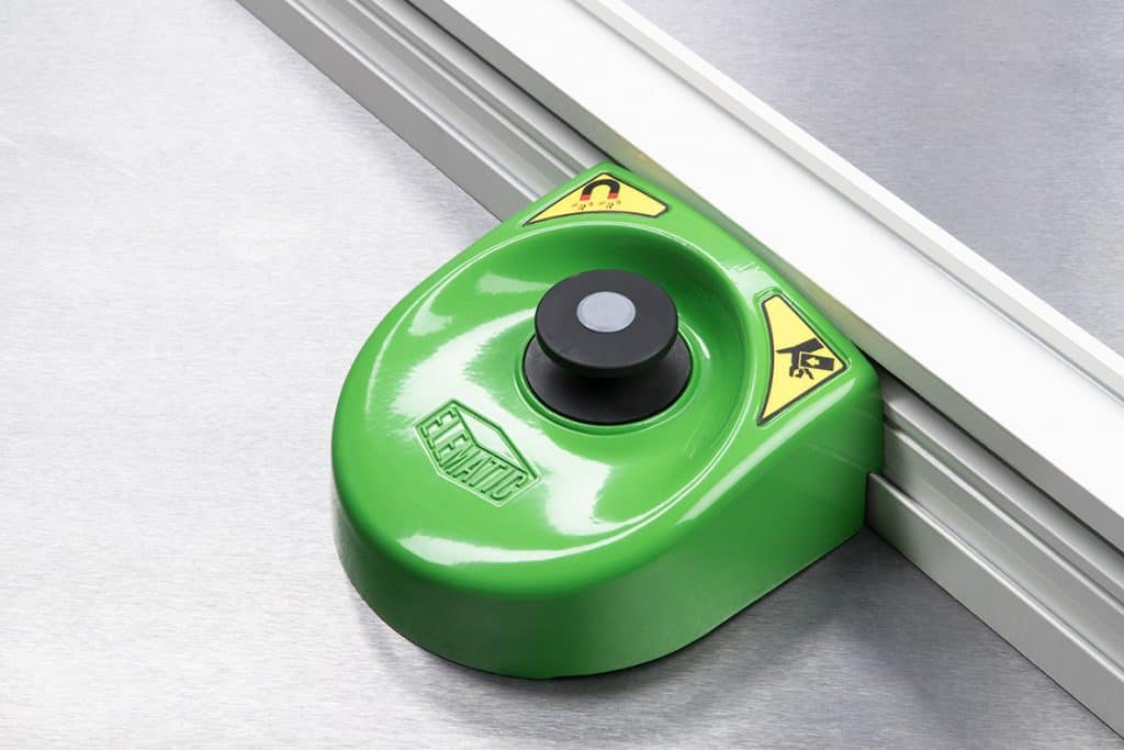 FaMe push-button magnet