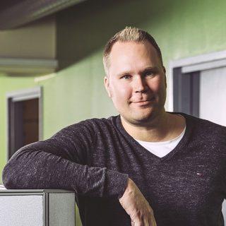 Janne Luotoharju, Head of Project Engineering / Head of the Mechanical engineering team