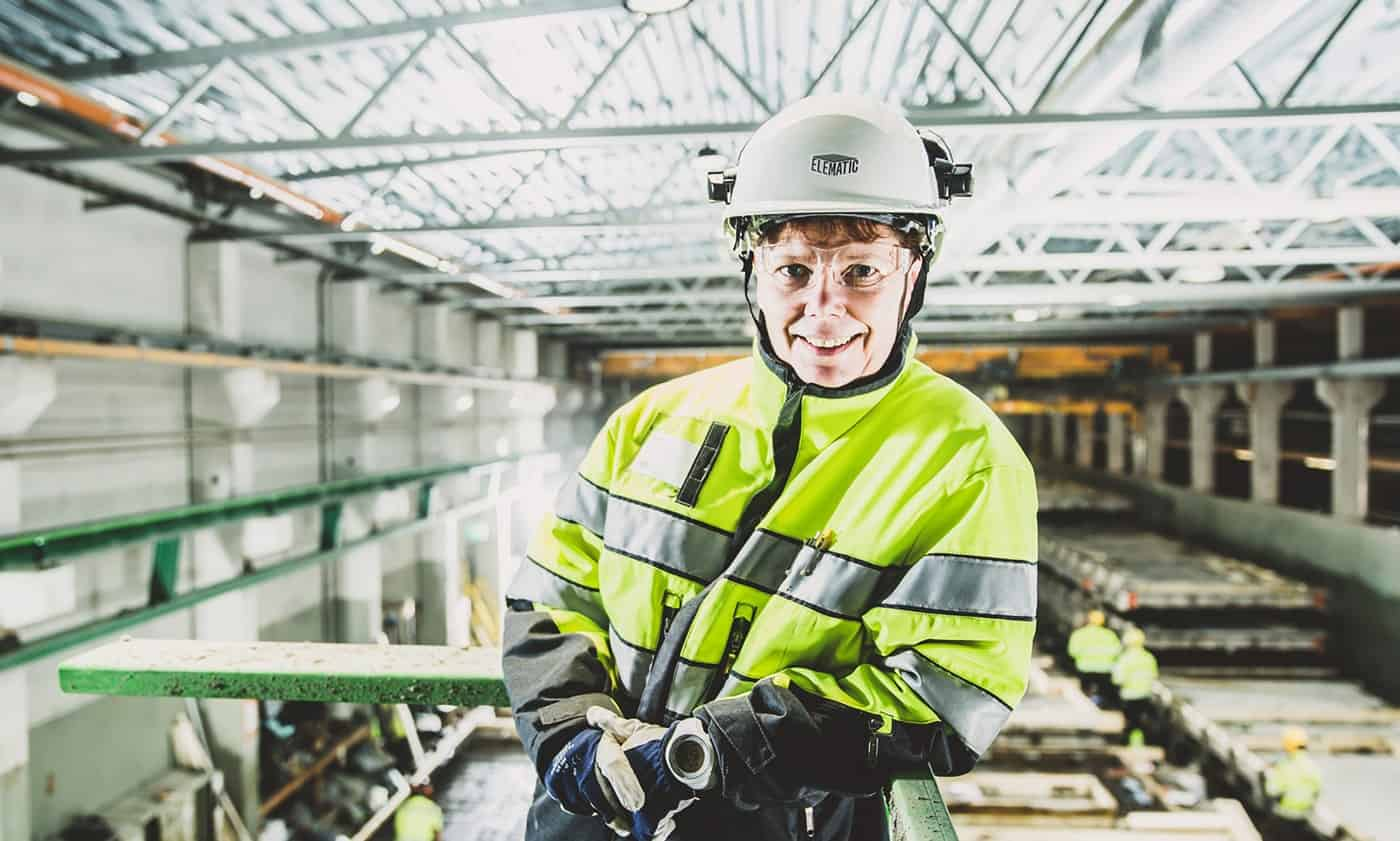 Elematic Customer Support Manager Eija Aimolahti